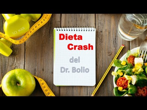 Dieta crash doctor bolio para bajar 10 kilos