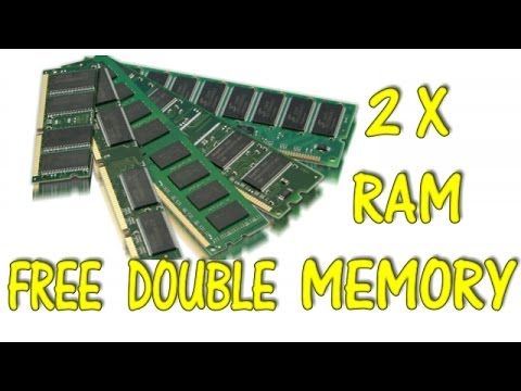 double your computer ram for free