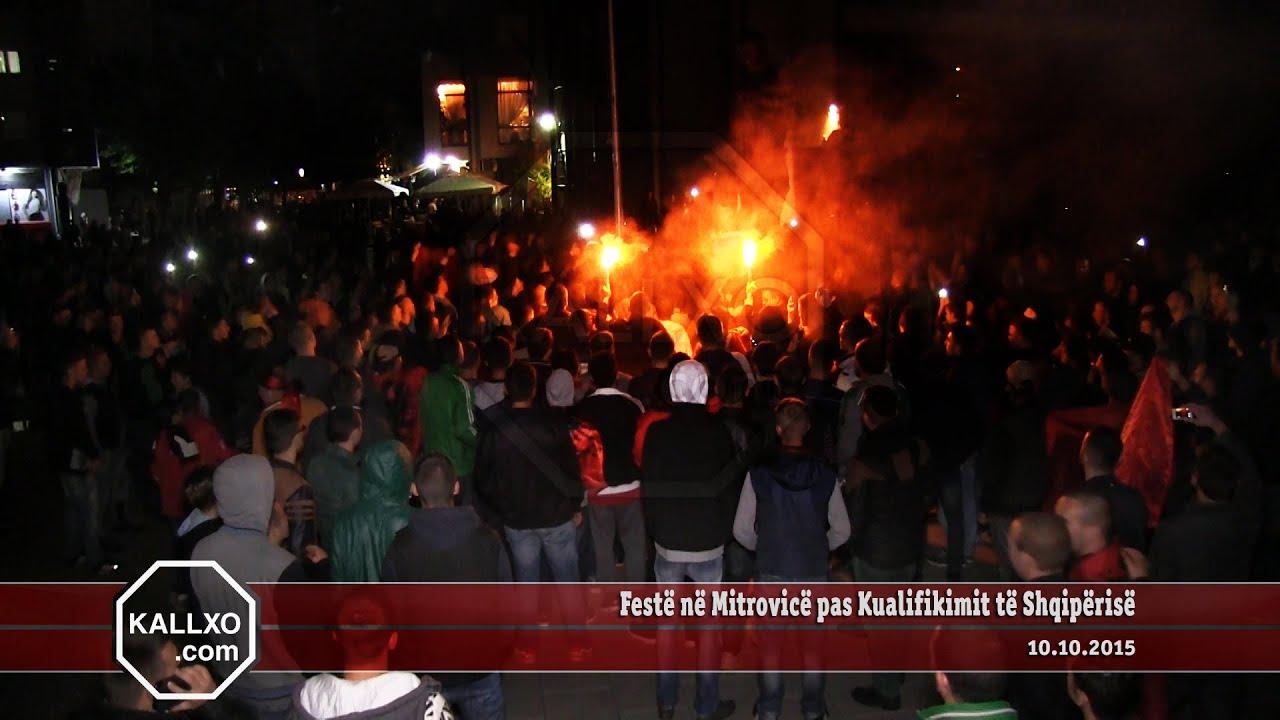 Festë në Mitrovicë pas Kualifikimit të Shqipërisë