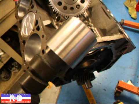 Reverse Rotation 4,3 Chevy