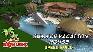 Casa de Vacaciones de Verano DE LA VELOCIDAD DE LA Bienvenido a ROBLOX Bloxburg