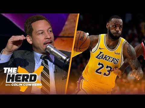 Chris Broussard thinks the Lakers are their best when LeBron dominates the ball | NBA | THE HERD