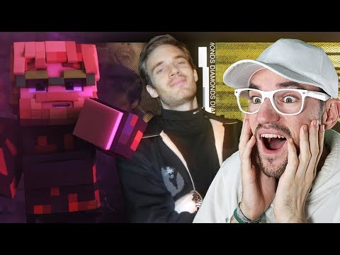 Mine All Day (Minecraft Music Video) | Pewdiepie | REACTION