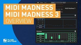 MIDI Madness 3 | Generate MIDI Melodies Chord Progressions Bass lines Plugin