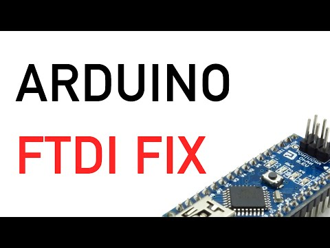 Unbrick Arduino FTDI FIX (Driver Update Win7 Arduino Nano FT232R USB UART)
