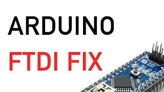unbrick arduino ftdi fix driver update win7 arduino nano ft232r usb uart