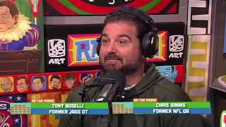 Tony Boselli Disputes Chris Simms