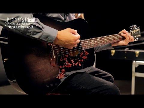 Gibson 2016 Eric Church Hummingbird Dark Acoustic-Electric Guitar