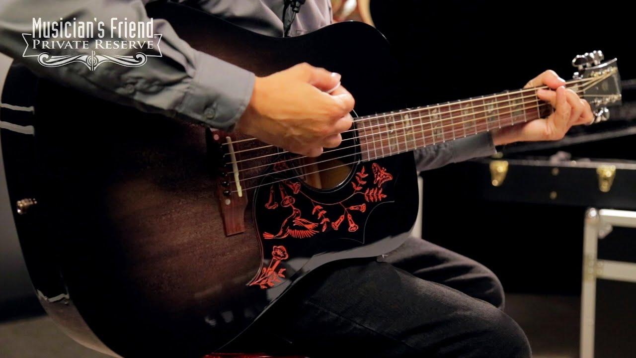 Eric Church Guitar : gibson 2016 eric church hummingbird dark acoustic electric guitar youtube ~ Vivirlamusica.com Haus und Dekorationen