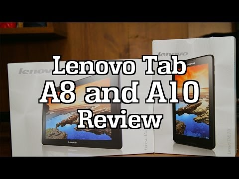 Lenovo IdeaTab A8 & A10 Review