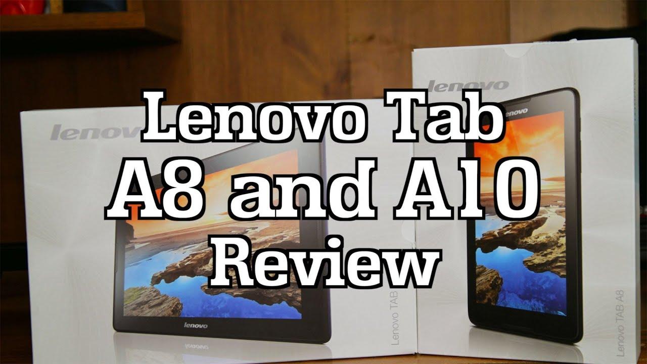 Lenovo IdeaTab A8 and Lenovo IdeaTab A10 - Comparative Review