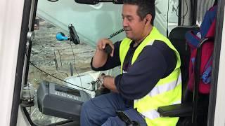 Operating The Liebherr 984 Excavator - Sotiriadis Brothers