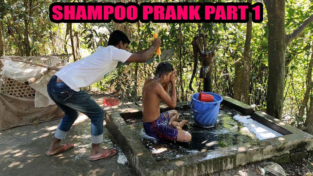 SHAMPOO PRANK PART 1 ---ANANTA HD MEDIA----