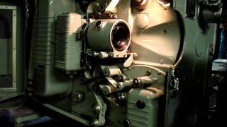 Jan Bell & Howell Military 16MM  Projector