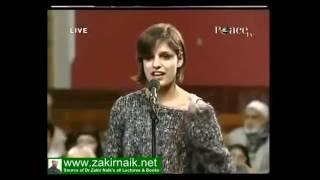 Dr zakir naik and oxford union debate on  islam   21st century
