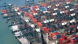 Супер Сооружения Глубоководный порт, гордость Китая