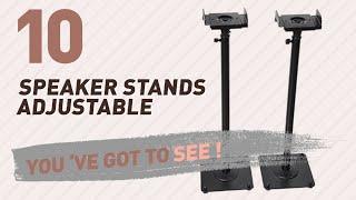 Speaker Stands Adjustable // New & Popular 2017