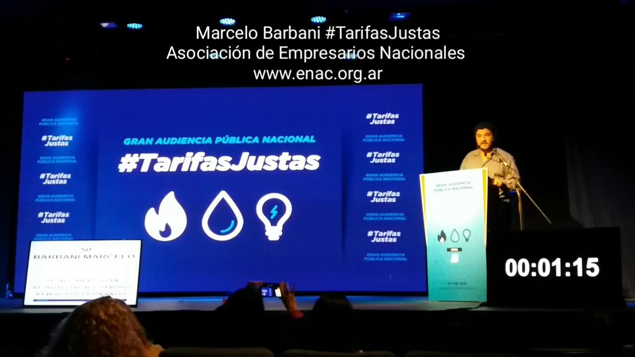 #TarifasJustas ENAC expuso en la audiencia pública la problemática de las pymes