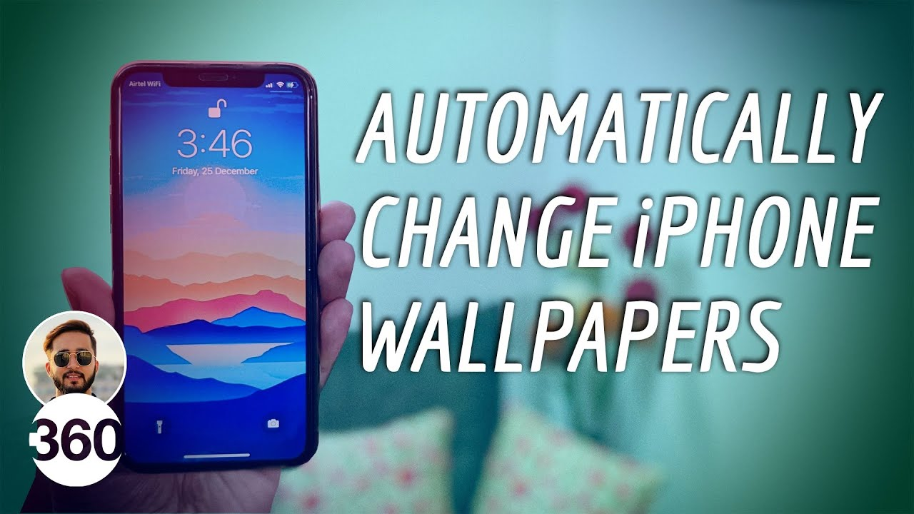 Change iPhone Wallpaper Automatically ...