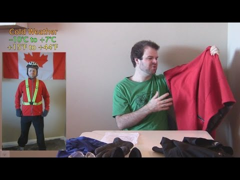 Complete Guide to Winter Cycling - Clothing