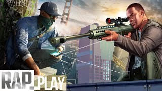 WATCH DOGS VS GTA - KRONNO & CYCLO | BATTLE PLAY | Videoclip Oficial)