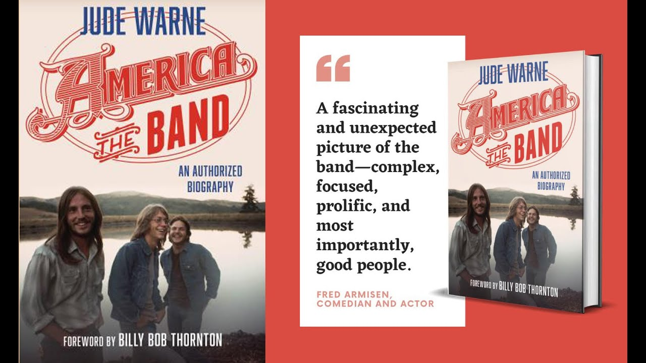 "Jude Warne interviews AMERICA about her new book ""America, the Band: An Authorized Biography"""