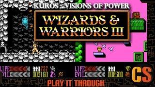 WIZARDS & WARRIORS III: KUROS: VISIONS OF POWER (GOOD ENDING )