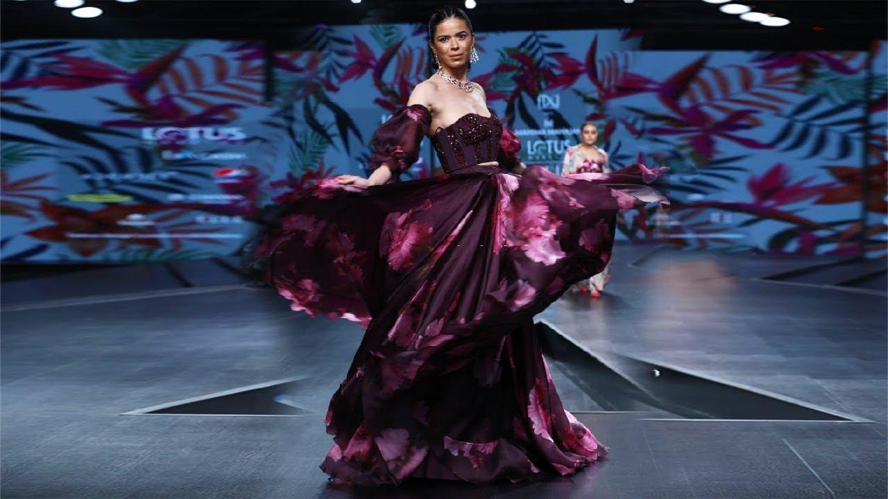 Mahima Mahajan Spring Summer 2020 India Fashion Week Youtube