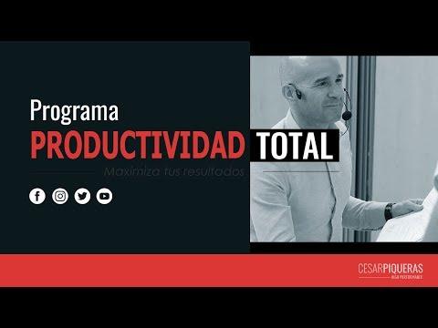 Productividad Total | Programas | César Piqueras