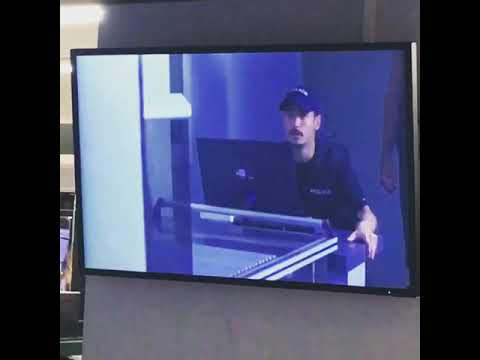 Beirut Airport Security Video