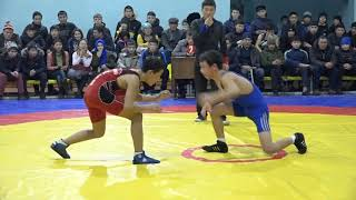 Спорт. Вольная борьба. Новогодний турнир-2018. Часть 18