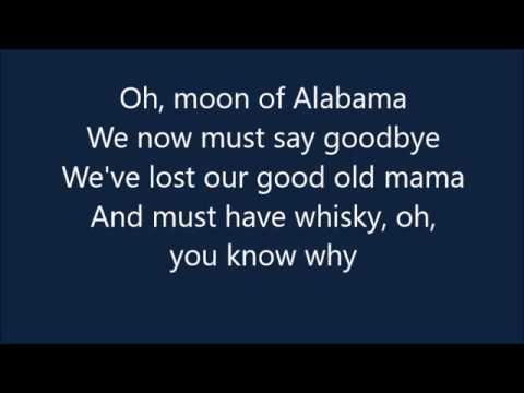 Alabama Song~The Doors~Lyrics