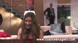 "Violetta 2:Angie Canta ""Tienes Todo"" Di Tòmas"