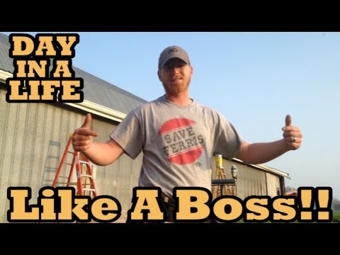 DAY IN A LIFE | General Contractor | Like A Boss!!