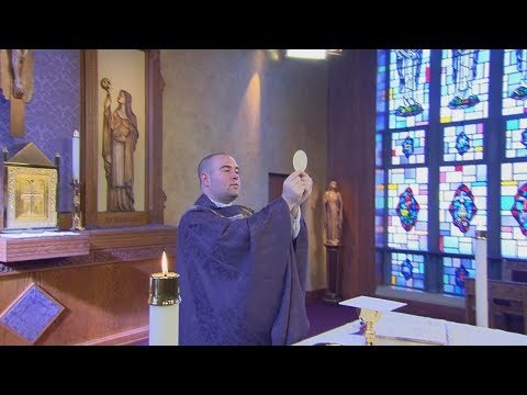 CatholicTV Mass: 2/18/18 | 1st Sunday of Lent