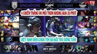 [GPL ALLSTAR 2017 ngày 4] VIỆT NAM VS SINGAPORE HIGHLIGHTS   SINGAPORE thì cũng 24 phút chứ mấy