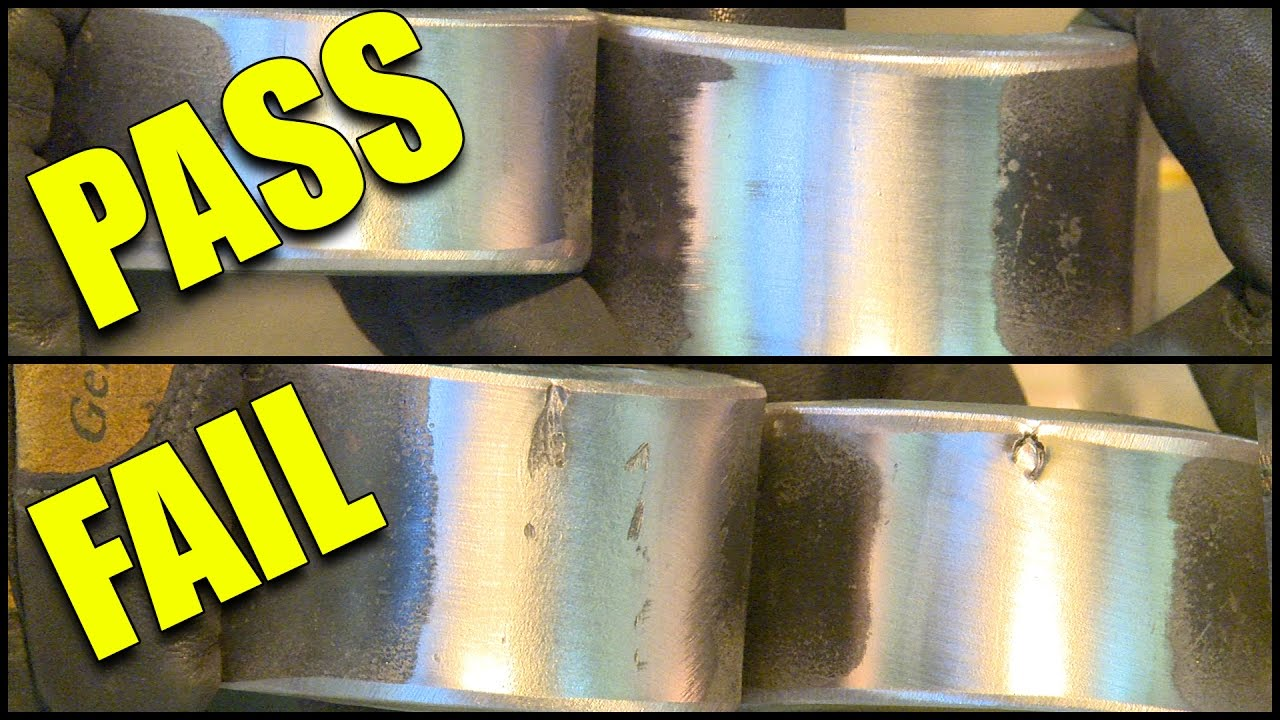 Tips To Pass A 1g Stick Weld And Bend Test Youtube