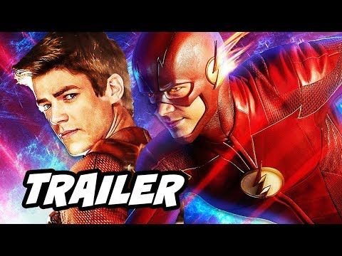 The Flash Season 4 Episode 1 Official Promo Breakdown - Flash Reborn