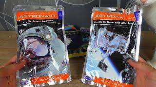 Wie schmeckt Astronauten Essen? Ich teste es!