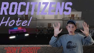 I GOT ROBBED! Roblox RoCitizens Hotel!