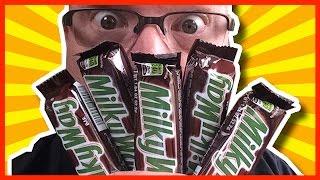5 Milky Way Bar Challenge vs. Wreckless Eating *VOMIT ALERT???*