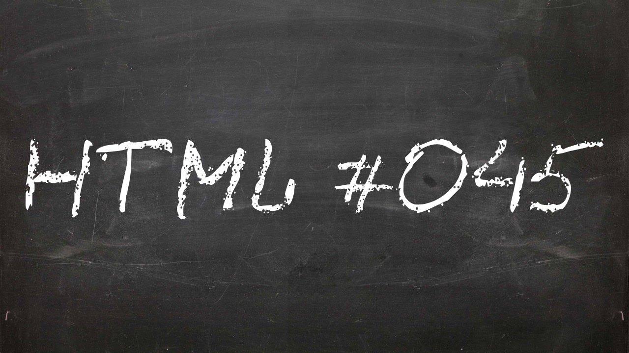Другие атрибуты гиперссылок в HTML