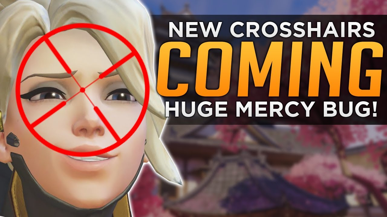 how to get a square crosshair in overwatch