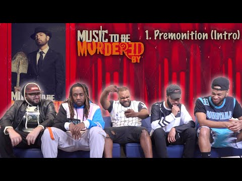 Eminem - Premonition (Intro) REACTION/REVIEW | Music To Be Murdered By