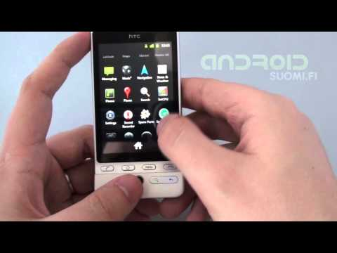 HTC Hero running Android 2.3.1 Gingerbread - Androidsuomi.fi