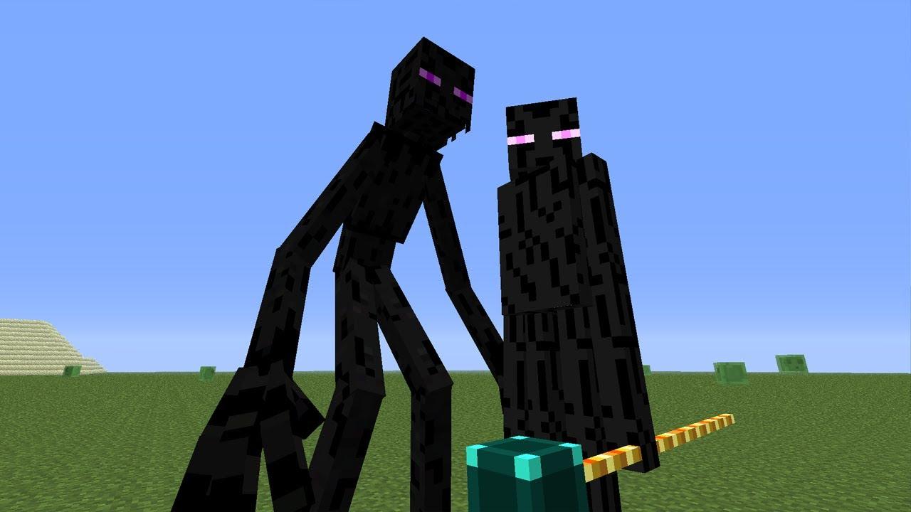 Mutant Enderman Vs Ender Lord Mvm Battle 05 Youtube