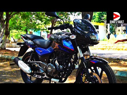 Bajaj Pulsar 150 UG5 First Ride Review Walkaround Exhaust note #Bikes@Dinos