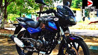 Bajaj Pulsar 150 UG5 First Ride Review Walkaround Exhaust note #Bikes@Dinos