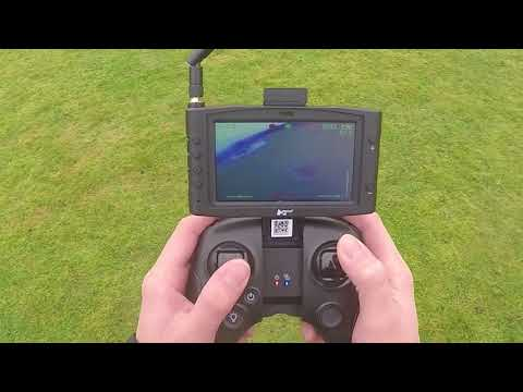 RC Bashers UK - Hubsan H122D x4 Storm - 2nd Flight Control View