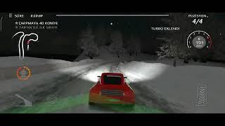 car racing game car racing on icy road(araba yarış  oyunu-buzlu yolda yarış) screenshot 3